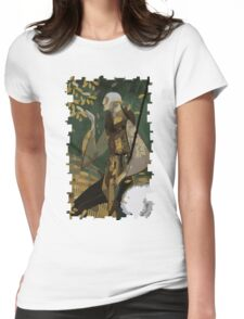Solas Tarot Card 1 Womens Fitted T-Shirt