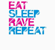Eat Sleep Rave Repeat by Stencil8 Unisex T-Shirt