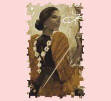 Josephine Tarot Card One Piece - Short Sleeve