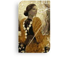 Josephine Tarot Card Canvas Print