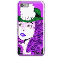 Alien fashion iPhone Case/Skin