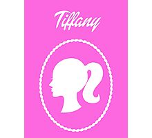 Girls Generation (SNSD) Tiffany Barbie Design Photographic Print