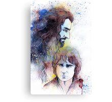 Thorin and Bilbo Canvas Print