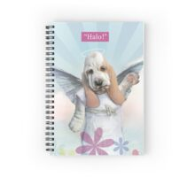 Halo! Spiral Notebook