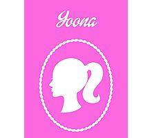 Girls Generation (SNSD) Yoona Barbie Design Photographic Print