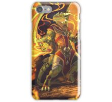 Argonian Flames iPhone Case/Skin