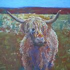 Fascination - Highland Cattle by Kay Cunningham