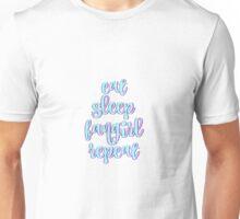Eat Sleep Fangirl Repeat Unisex T-Shirt