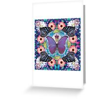 queen of the butterflies Greeting Card