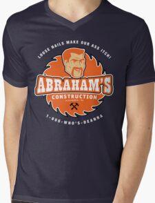 Abraham's Construction Mens V-Neck T-Shirt