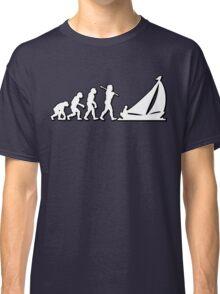 Evolution Sailing 01 by Stencil8 Classic T-Shirt