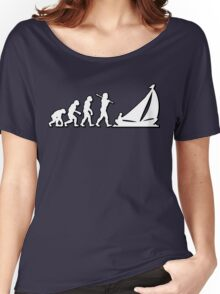 Evolution Sailing 01 by Stencil8 Women's Relaxed Fit T-Shirt