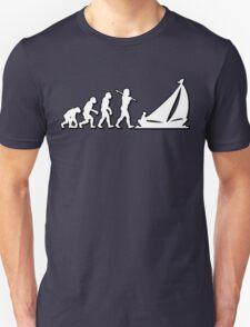 Evolution Sailing 01 by Stencil8 T-Shirt