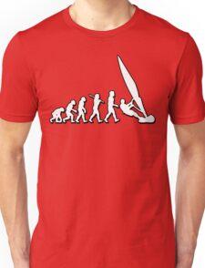 Evolution Windsurfing by Stencil8 Unisex T-Shirt