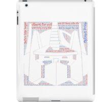 Optimus Prime Quote Word Art iPad Case/Skin