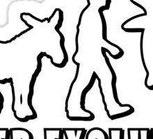 Evolution Poker by Stencil8 Sticker
