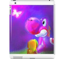 Pink Yoshi iPad Case/Skin