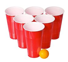 Beer Pong by theteeshirtboy