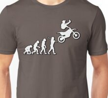 Evolution Freestyle Motocross FMX by Stencil8 Unisex T-Shirt