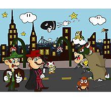 Mario Mafia (Day Time Version) Photographic Print