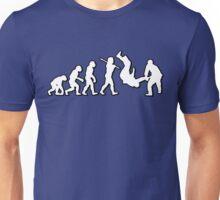 Evolution Judo Throw by Stencil8 Unisex T-Shirt