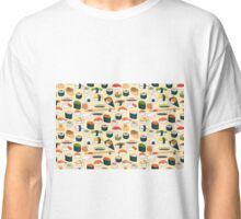 Sushi Seamless Background Classic T-Shirt