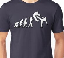 Evolution Martial Arts Power Kick by Stencil8 Unisex T-Shirt