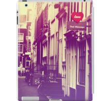 Amsterdam. Love. Color iPad Case/Skin