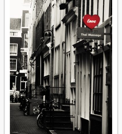 Amsterdam. Love Sticker