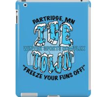 Parks and Rec: Ice Town Shirt iPad Case/Skin