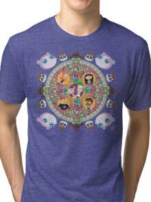 Phineas and Ferb Mandala Tri-blend T-Shirt