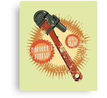 Rapture's Wrench Canvas Print