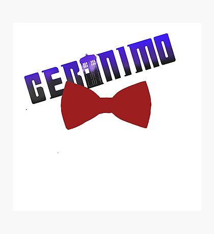 geromino doctro who Photographic Print