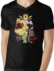 Welcome to the Mogeko Castle! Mens V-Neck T-Shirt