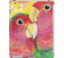 Peach-faced lovebird iPad Case/Skin