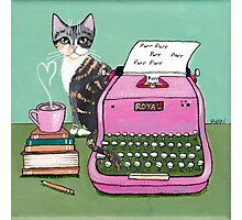 Love Note From The Cat Photographic Print