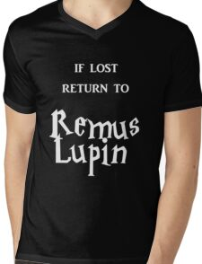 If Lost Return to Remus Lupin  Mens V-Neck T-Shirt