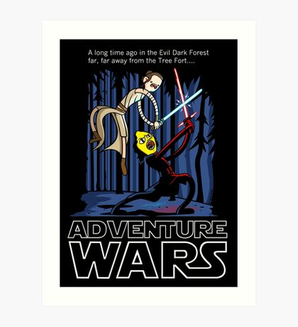 Adventure Wars Art Print