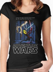 Adventure Wars Women's Fitted Scoop T-Shirt