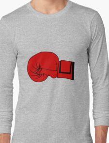 Boxing Glove Long Sleeve T-Shirt