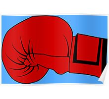Boxing Glove Poster