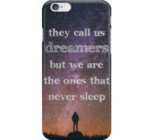 Dreamers iPhone Case/Skin