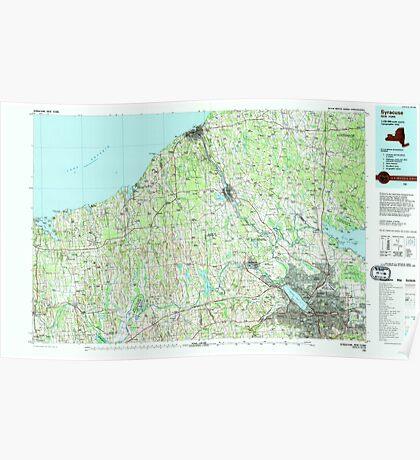 New York NY Syracuse 136944 1985 100000 Poster