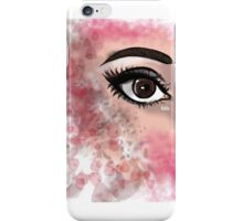 colorful eye iPhone Case/Skin