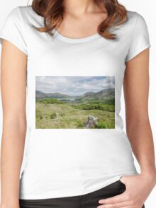 Ladies View Women's Fitted Scoop T-Shirt