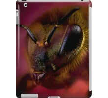 Sometimes you can bee too close iPad Case/Skin