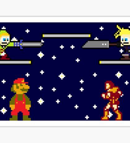 Super Smash Bros. for Nintendo Entertainment System Sticker