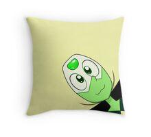 Peridot Pillow Throw Pillow