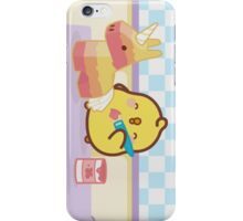 kawaii molang bunny chick piu piu  iPhone Case/Skin