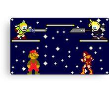 Super Smash Bros. for Nintendo Entertainment System Canvas Print